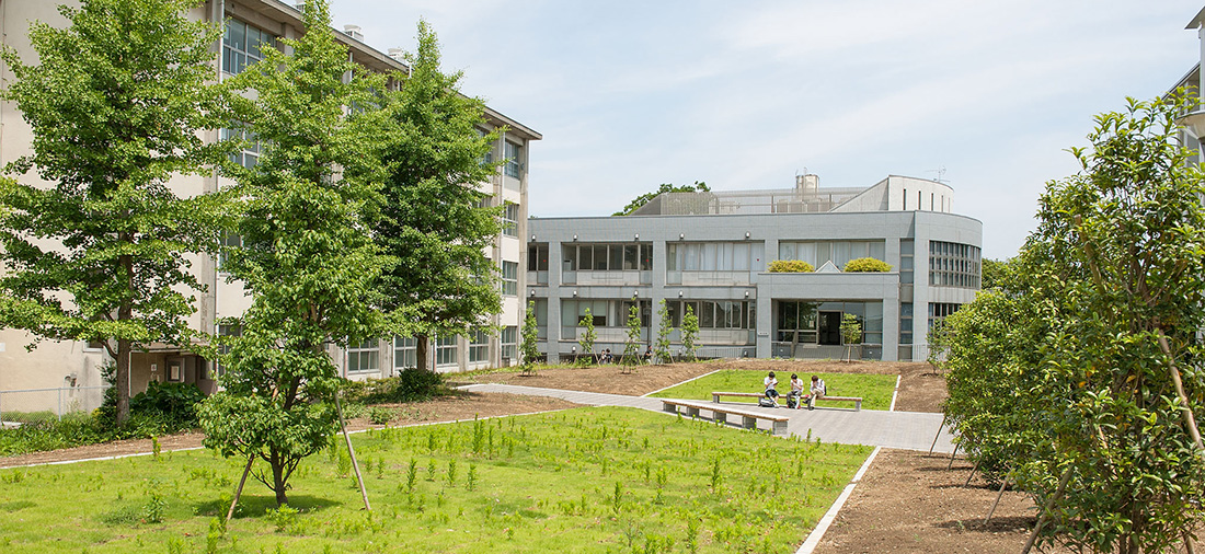 Mita campus of landscape